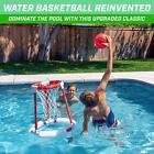 Floating Swimming Pool Basketball Game Summer Toy With 2 Balls and Pump For Kids