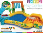 Intex Inflatable Pool Water Play Rainbow Ring Center Slide Backyard Games Kids