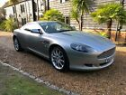 LARGER PHOTOS: 2005 ASTON MARTIN DB9 COUPE IN SILVER/BLACK LEATHER 87K FSH RECENT SERVICE