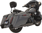 Bassani Black CVO 4 DNT Exhaust Mufflers for 17 19 Harley Touring FLHXSE FLTRSE