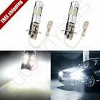 2x 60W H3 CREE LED Fog Driving DRL Signal Light 6000k 10SMD High Power Lamps