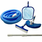 Swimming Pool Cleaning Kit Maintenance Above Ground Skimmer Brush Vacuum Hose