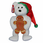 Ty Beanie Baby Goody - MWMT (Bear w/ Hat and gingerbread cookie 2005) Christmas
