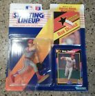 Starting Lineup 1992 MLB Rob Dibble Figure with poster and card