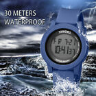 SHHORS Watch Mens/Womens Watches Waterproof Sport Outdoor LED Digital Wristwatch