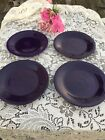 FIESTA 4 NEW PLUM purple DINNER PLATES 10-1/2