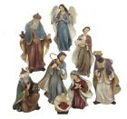 Christmas Nativity Scene Set 8 Piece Holiday Decoration C5709 65 Inch New