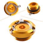 M27*3.0 Aluminum GOLD Engine Oil Filler Cap Cover FOR Yamaha YZF R6 R125 FZ6 FZ1
