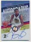KEVIN DURANT 2018 19 ABSOLUTE 10TH ANNIVERSARY ON CARD AUTOGRAPH SP AUTO #05 15