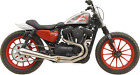 Bassani High Output Road Rage 3 Exhaust for 04 19 Harley Sportster 1200 XL XLC