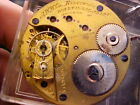 16s Waltham model 1872 Riverside Adjusted Non Magnetic pocket watch movement