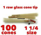 RAW Rolling CONE BROGlass Tip Cigarette Holder Fits Pre or Hand Rolled4 packs