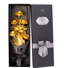 24k Gold Roses Bouquet Gold Plated Rose 24k Gold Dipped Rose Forever Gifts