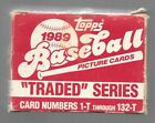 1989 Topps Baseball Traded Complete Factory Set 132 Cards Griffey Rookie NRMT