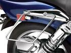 Show Chrome Saddlebag Support Stay Honda VT1100C Shadow 1100 Spirit 1999-2007