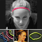 Women Men Sport Training Yoga Hair Bands Headband Girls Rubber Running Sweatband