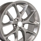 20x8 OEM Dodge Challenger Charger 6MN92TRMAA Wheels Granite Crystal SET-OEW