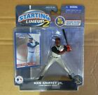 Starting Lineup 2 MLB 2001 Ken Griffey Jr. Figurine and card