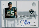 2001 UPPER DECK SP AUTHENTIC JUNIOR SEAU ON CARD AUTOGRAPH CARD CHARGERS