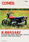 CLYMER Shop Repair Service Manual for 1973-81 Kawasaki z1 kz900, kz1000 z1r ltd