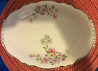 Homer Laughlin Virginia Rose Oval Platter