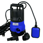 1 2HP Clean Dirty Submersible Water Pump Swimming Pool Pond Flood 2000GPH New