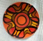 Vintage 1970s Poole Delphis Plate Shallow Bowl by Rosina St Clayre Everett