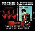 Break It All Down/Wave Of Emotion - Ritchie Kotzen Compact Disc Free Shipping!