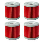 4pcs Oil Filters For Suzuki DR100 LT125 AN400 UX125 HYOSUNG XRX125 GF125 RX125