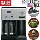 Coffee Maker Plus 12 Cup Programmable Coffeemaker with Hot Water System Bar Home