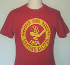 280  DSQUARED RARE VINTAGE RANGERS TEE SHIRT RED HUDGE HOCKEY PATCH M TOP JEANS