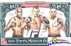2016 Topps UFC Museum Collection Factory sealed HOBBY BOX-3 AUTOGRAPH RELIC