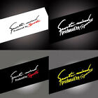 1x Sports Racing Car Decal Stickers Auto Reflective Vinyl Graphic Decoration