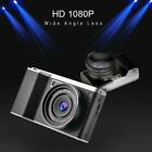 Black 24MP Touch Screen Wide Angle Lens Digital Camera 8X Digital Zoom Accessory