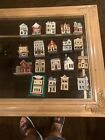 Lot Of 19 Hallmark Nostalgic Houses and Shops Series Ornaments