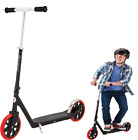 Razor A5 Carbon Lux Kick Scooter Black Red Wheels Steel Outdoor Park Adult Kids