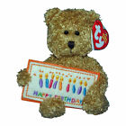 Ty Beanie Baby Happy Birthday - MWMT (Bear w/ Card Greetings Collection)