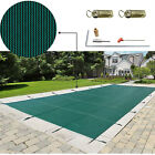 Swimming Pool Cover 18X36 FT Rectangular In Ground Polypropylene Non Evaporation