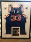 Patrick Ewing Autographed, Framed & Authenticated Basketball Jersey