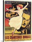 Canvas Art Print The Red Shoes 1948