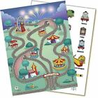 2 SETS THOMAS THE TANK FRIENDS TRAIN PLAYSET REUSABLE VINYL STICKERS PLAY FORMS