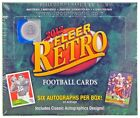 2012 UPPER DECK FLEER RETRO FOOTBALL HOBBY BOX LOOK FOR PRECIOUS METAL GEMS!