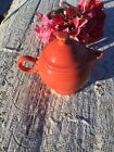 FIESTA NEW Retired PERSIMMON LARGE COVERED TEAPOT 44 oz. Fiestaware