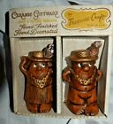 EstateDecorative Salt  Pepper Shakers Not Perfect Boxed Couple in Hawaii