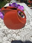 FIESTA NEW PAPRIKA burnt orange LARGE DISK PITCHER 67-1/4 oz DISC Fiestaware