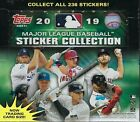 2019 Topps MLB Sticker Collection Baseball New 50-PACK STICKER BOX=200 Stickers