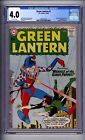 CGC (D.C) GREEN LANTERN 1 VG 4.0 1960 OFF WHITE PAGES