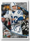 2009 UPPER DECK PEYTON MANNING FOOTBALL HEROES AUTO #D 1 1 COLTS HOF AUTOGRAPH