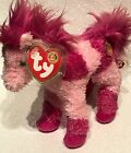 BEANIE BABIES 2005 PINK HORSE CANTERS