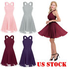 Chiffon Women Sexy Evening Party Dress Wedding Ball Gown Prom Bridesmaid Dresses